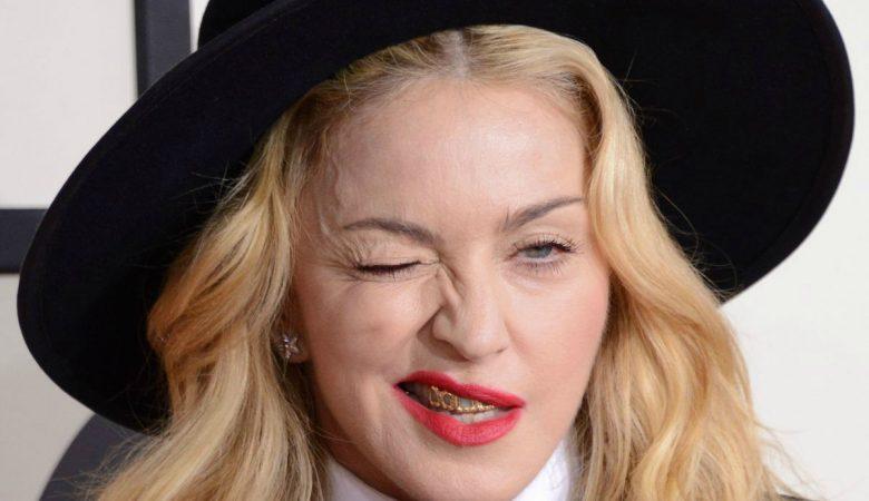 Blowjob facial with madonna