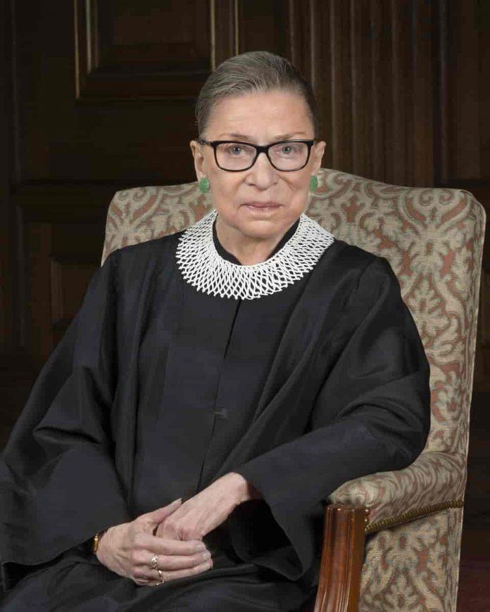 La juez Ruth Bader Ginsburg
